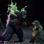 S.H. MonsterArts Space Gozilla & Little Godzilla Sp Color Ltd Pr