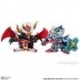 Gashapon Senshi F EX05 FA Knight Gundam & Black Dragon Ltd